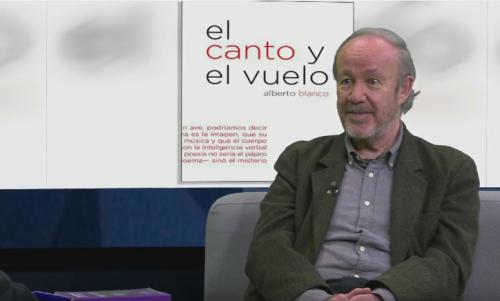 Alberto Blanco habla sobre su libro <i>El canto y el vuelo</i>