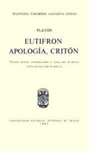 Eutifrón. Apología. Critón