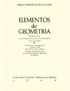 Elementos de geometría. Libros I y II