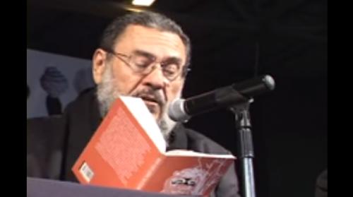 José Vicente Anaya en la Feria del Libro Hermosillo 2011.