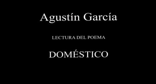 Agustín García lee Doméstico