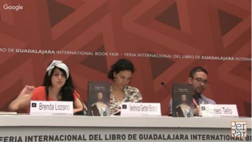 <i>La cabellera andante</i> de Margo Glantz en FIL Guadalajara 2015