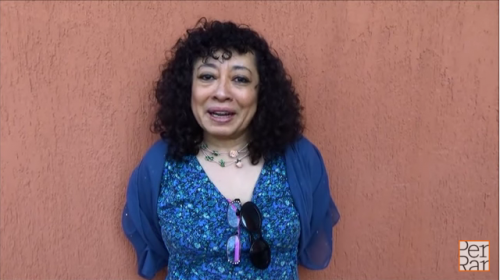 Ana Clavel, autora hablando sobre <i>El amor es hambre</i>