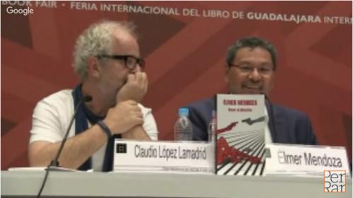 <i>Besar al detective</i> de Élmer Mendoza en FIL Guadalajara 2015