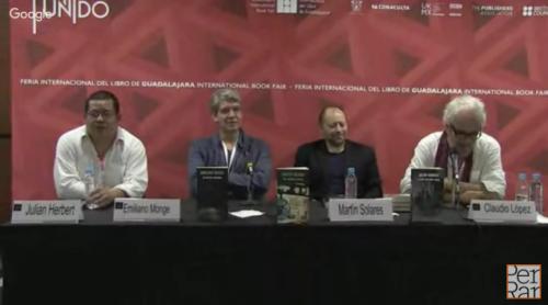 Mesa: <i>México roto. Literatura y resistencia</i>. Julián Herbert, Emiliano Monge y Martín Solares