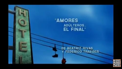 Booktrailer <i>Amores adúlteros... el final</i> de Beatriz Rivas y Federico Traeger