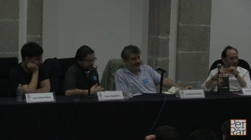<i>Resaca</i> de L.M. Oliveira en FIL Minería 2015