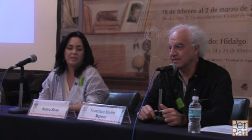''Dios se fue de viaje'' de Beatriz Rivas en FIL Minería 2015
