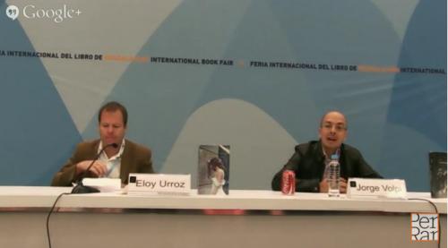 ''Memorial del engaño'' y ''La mujer del novelista'', Jorge Volpi y Eloy Urroz