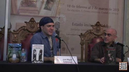 Mesa: Mano a mano contra la historia. Juan Miguel Zunzunegui y Leopoldo Mendívil