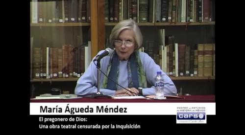 Conferencia: El pregonero de Dios. Una obra teatral censurada por la Inquisición, por María Águeda