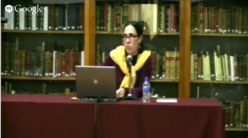 Conferencia: Puebla de los Ángeles y sus primeros libros, por Mariana Garone