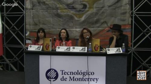 <i>Fecha de caducidad</i> de Beatriz Rivas, Eileen Truax y Armando Vega Gil en FIL Monterrey