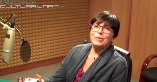 Ethel Krauze en Descarga Cultura.UNAM