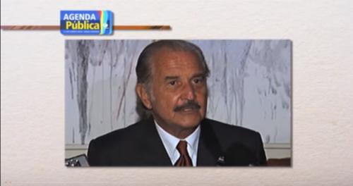 Carlos Fuentes visto por el crítico Julio Ortega