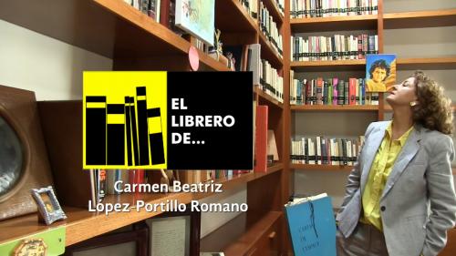 El librero de... Carmen Beatriz López Portillo Romano
