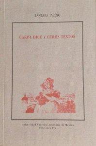 Carol dice y otros cuentos