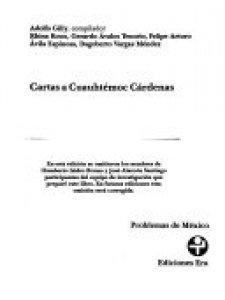 Cartas a Cuauhtémoc Cárdenas
