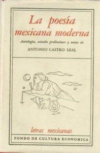 La poesía mexicana moderna