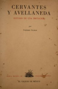 Cervantes y Avellaneda: estudio de una imitación