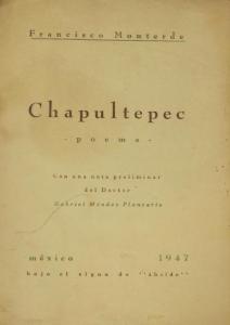 Chapultepec : poema