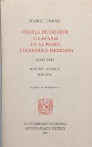 Charla de pájaros o las aves en la poesía folklórica mexicana