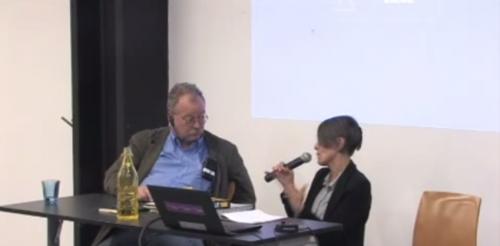 Charla literaria entre Pura López Colomé y Jorge Fondebrider