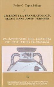 Cicerón y la translatología según Hans Josef Vermeer
