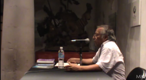 La literatura en las lenguas originarias de México, sus retos y sus esperanzas. Javier Castellanos
