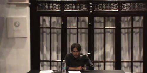 Conferencia: Francisco Tario: entre páginas heladas, por Rogelio Castro