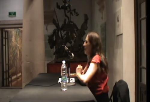 Ana García Bergua:¿Qué es ser escritora?