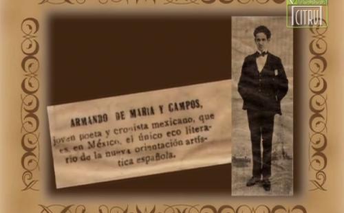Homenaje: Armando de María y Campos