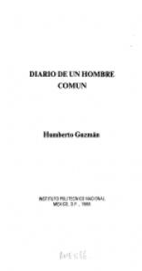 Diario de un hombre común