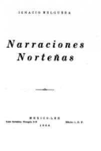 Narraciones norteñas