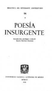 Poesía insurgente