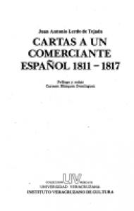 Cartas a un comerciante español 1811-1817