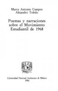 Poemas y narraciones sobre el movimiento estudiantil de 1968