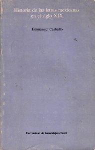 Historia de las letras mexicanas en el siglo XIX