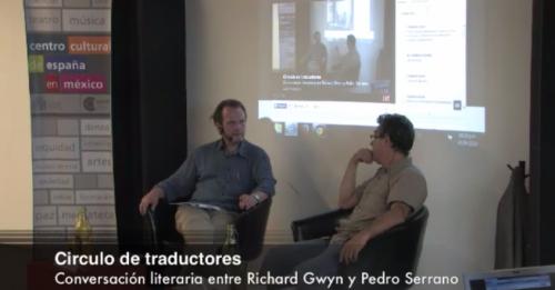 Conversación literaria entre Richard Gwyn y Pedro Serrano