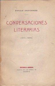 Conversaciones literarias : 1915-1920