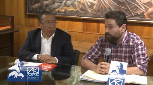 Conversación sobre la correspondencia entre Alfonso Reyes y Alfonso Junco