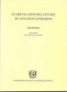 Cuarenta años del Centro de Estudios Poéticos : memoria