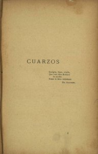 Cuarzos
