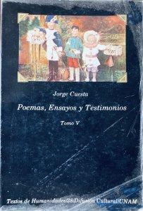Poemas, ensayos y testimonios