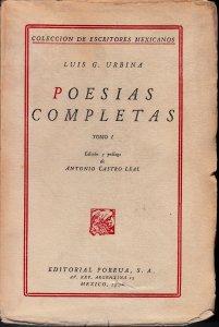 Poesías completas. Tomo I