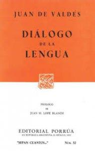 Diálogo de la lengua