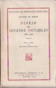 Diario de sucesos notables (1665-1703) I