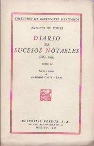 Diario de sucesos notables (1665-1703) III