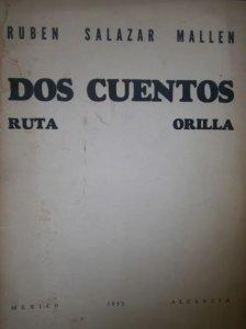 Dos cuentos. Ruta; Orilla
