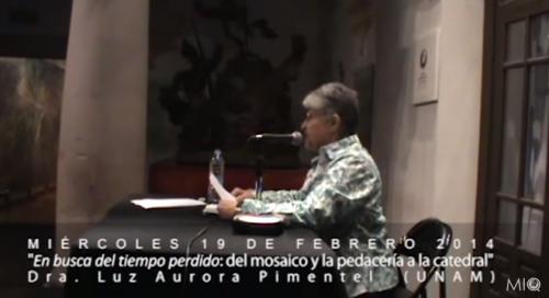 Dra. Luz Aurora Pimentel (UNAM)
